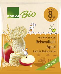 EDEKA Bio Reiswaffeln Apfel ab 8.Monat 35G