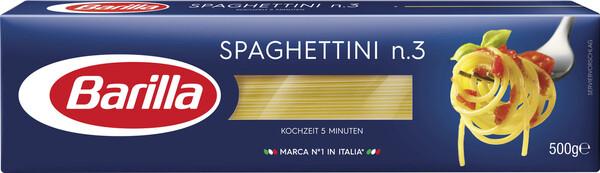 Barilla Nudeln Spaghettini No.3 500 g