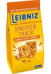 Leibniz Knusper Snack Karamelisierte Erdnüsse 175 g