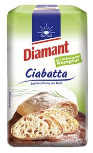 Diamant Ciabatta Backmischung mit Sauerteig und Hefe 500G