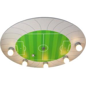 XXXLutz Niermann fußballstadion , 668 Niermann Fußballstadion , Grün, Silberfarben , Kunststoff, Holzwerkstoff , 53x7x71 cm , getrennt schaltbar, Zugschalter , 005448016701