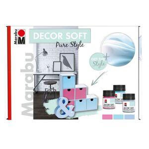 Marabu - Effektfarbe - Decor Soft Set - Pure Style