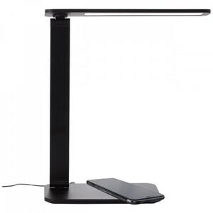 Brilliant LED CCT Tischleuchte Seamont ,  mit Induktivladefunktion für Smartphones
