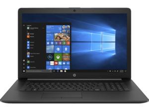 HP 17-ca1376ng, Notebook mit 17,3 Zoll Display, Ryzen 7 Prozessor, 8 GB RAM, 512 SSD, Radeon RX Vega 10, Schwarz