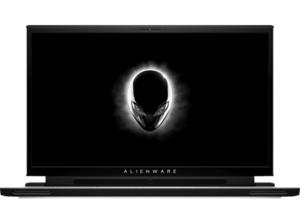 DELL Alienware m17 R2, Gaming Notebook mit 17,3 Zoll Display, Core™ i7 Prozessor, 16 GB RAM, 512 SSD, GeForce RTX 2070 Max-Q, Schwarz, Weiß