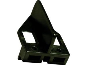 CARRERA (TOYS) 2 Leitkiele inkl. 8 Doppelsch. Schienenzubehör, Schwarz