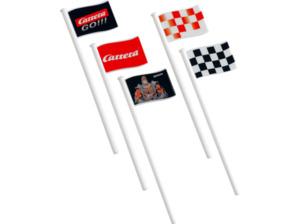 CARRERA (TOYS) Flaggen (10) Carrera Zubehör, Mehrfarbig