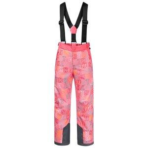 Jack Wolfskin Great Snow Printed Pants Kids Skihose Kinder 176 rot coral pink all over
