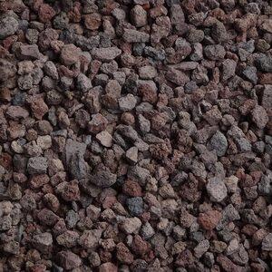 20 L Lava-Mulch rot-braun 8-16 mm Körnung