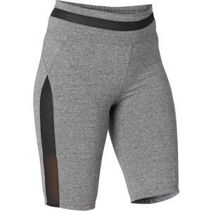 Shorts kurz 520 Gym & Pilates Damen grau