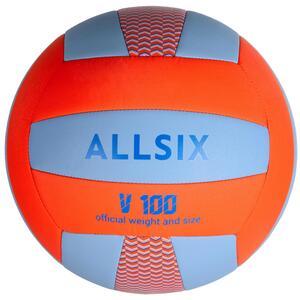 Volleyball V100 blau/orange