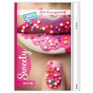 Hausaufgabenheft - Sweety - DIN A5