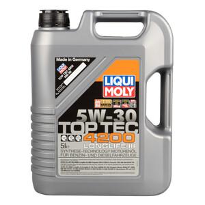 Liqui Moly Motorenöl Top Tec 4200 5W-30 5 Liter Motoröl