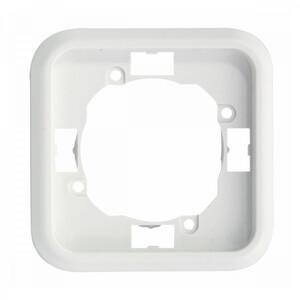 Steckdosenrahmen FL Vario 1-fach weiß Kunststoff Rahmen Steckdose Schalter