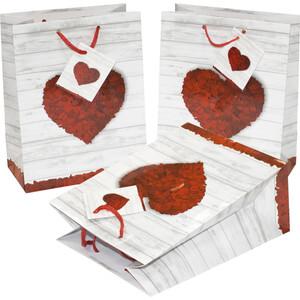 Geschenktasche Pure Love, medium, mit Kordel