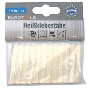Heissklebesticks 12 Stück 8 x 50 mm transparent