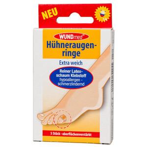 WUNDmed Hühneraugenringe Set 5 Stück hypoallergen
