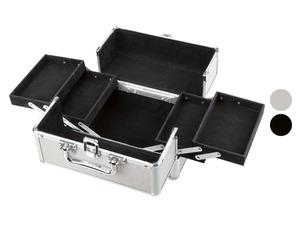 MIOMARE® Kosmetikkoffer, aus Aluminium