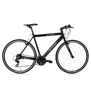 KS Cycling Fitnessbike Lightspeed 21 Gänge, 28 Zoll für Herren, Größe: 58, Schwarz