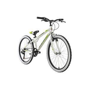 """KS Cycling Kinderfahrrad 24"""" Scrawler für Jungen, Größe: 31, Weiß"""