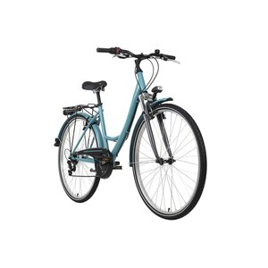 KS Cycling Damenrad 28 Zoll La Città 6 Gänge, Größe: 46, Blau