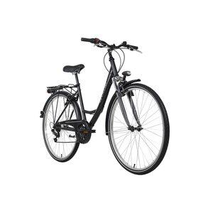KS Cycling Damenrad 28 Zoll La Città 6 Gänge, Größe: 46, Grau