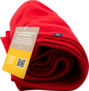 share Schal, rot, Einheitsgröße,