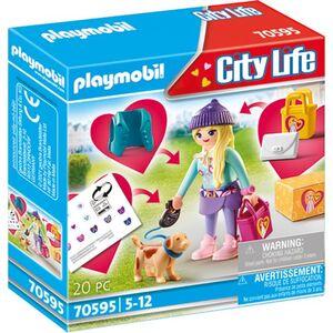 Playmobil® 70595 - Fashion Girl mit Hund - Playmobil® City Life