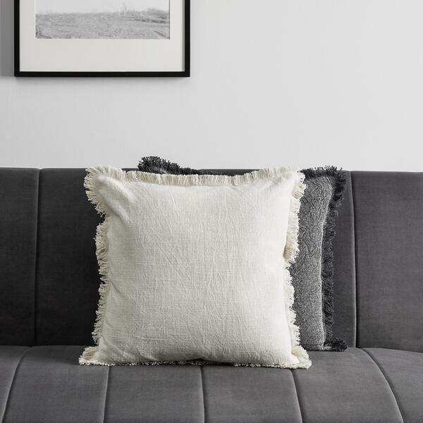 Kissen in natur, Allegra, 45x45cm