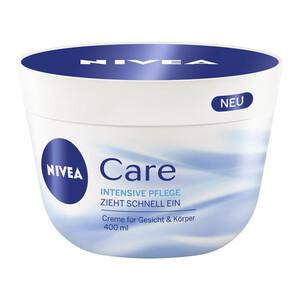 Nivea Care Intensiv Pflege Creme für Gesicht & Körper 0,4 ltr