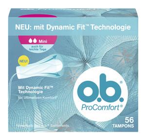 o.b. ProComfort Tampons Mini 56 Stück