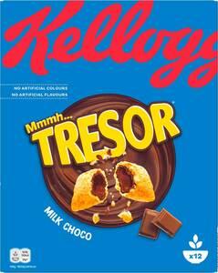 Kelloggs Tresor Milk Choco 375G