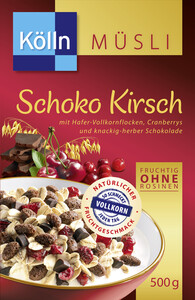 Kölln Müsli Schoko Kirsch 500 g