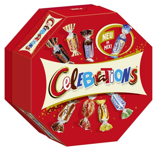 Celebrations kleine Packung 186 g