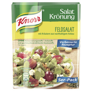 Knorr Salatkrönung Feldsalat 5x 8 g