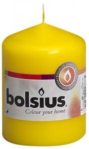 Bolsius Stumpenkerze ,  gelb, Höhe 8 cm, Ø 5,8 cm