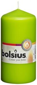 Bolsius Stumpenkerze ,  lemon, Höhe 12 cm, Ø 5,8 cm
