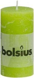 Bolsius Rustik Stumpenkerze ,  lemon, Höhe 10 cm, Ø 5 cm