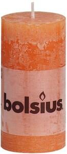 Bolsius Rustik Stumpenkerze ,  orange, Höhe 10 cm, Ø 5 cm