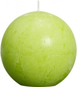 Bolsius Rustik Kugelkerze ,  lemon, Höhe 8 cm, Ø 8 cm