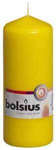 Bolsius Stumpenkerze ,  gelb, Höhe 15 cm, Ø 5,8 cm