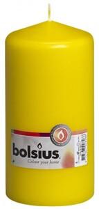 Bolsius Stumpenkerze ,  gelb, Höhe 15 cm, Ø 7,8 cm