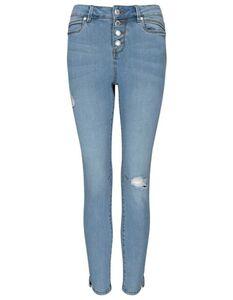 Damen Skinny Fit Jeans mit Stretch-Anteil