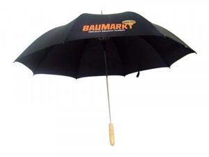 TrendLine Regenschirm mit Baumarkt-Logo ,  extra groß