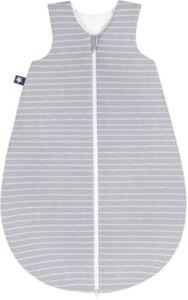 Schlafsack, Jersey, Grey Stripes Gr. 110
