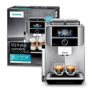 Siemens Kaffeevollautomat TI9575X7 DE ,  19 Bar, Keramikmahlwerk, EQ 9 plus connect s700