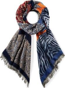 COX, Trend-Schal in blau, Tücher & Schals für Damen