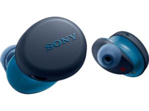 SONY WF-XB700, Earbuds, Ladeetui, In-ear True-Wireless-Kopfhörer Bluetooth Blau