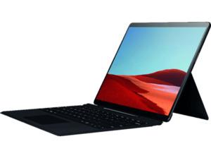 MICROSOFT Surface Pro X 8GB/256GB SQ1, Convertible mit 13 Zoll Display, SQ1™ Prozessor, 8 GB RAM, 256 SSD, Microsoft® Adreno™ 685 GPU, Schwarz
