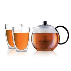 Bodum Tee-Set Schwarz